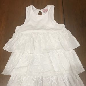 Other - Girls White Ruffle Dress from Orient Express